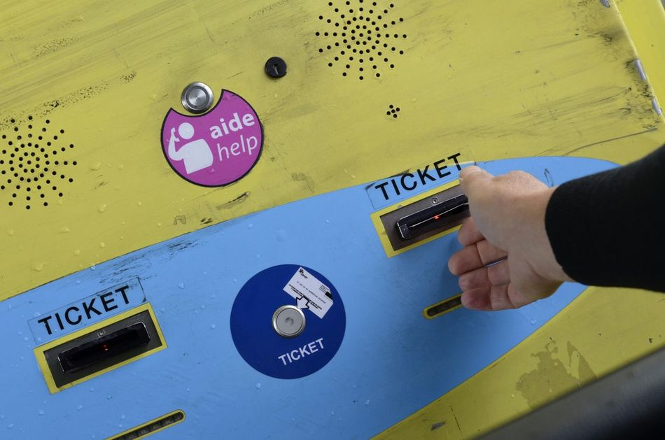 Ticket Tols Boarder Machine France Open Edit OpenEdit No Filter Hand