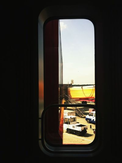 Window Transportation Vehicle Interior Mode Of Transport Travel Train - Vehicle Public Transportation Journey Land Vehicle No People Indoors  Airplane Day Sky Airport