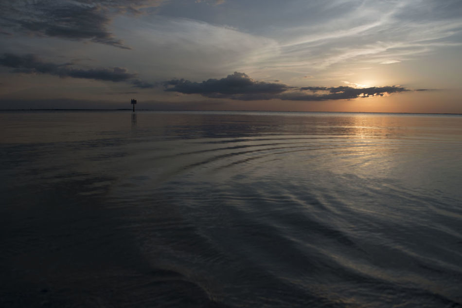 Beach Beauty In Nature Horizon Over Water Nature No People Outdoors Reflection Sea Sky Sunset Tranquility Water