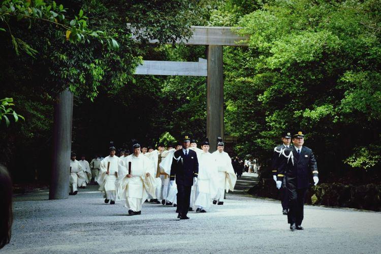 Mie,japan Japanese Shrine 伊勢神宮 伊勢神宮内宮 宮司 祭事