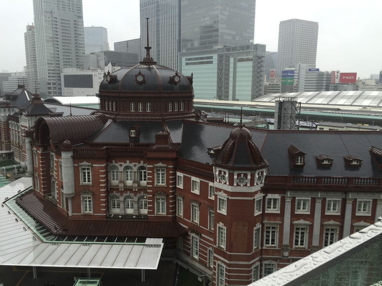 Tokyo station is so classic Bangkokeater Tokyotrip Tokyostation Tokyo2015 tokyo2015