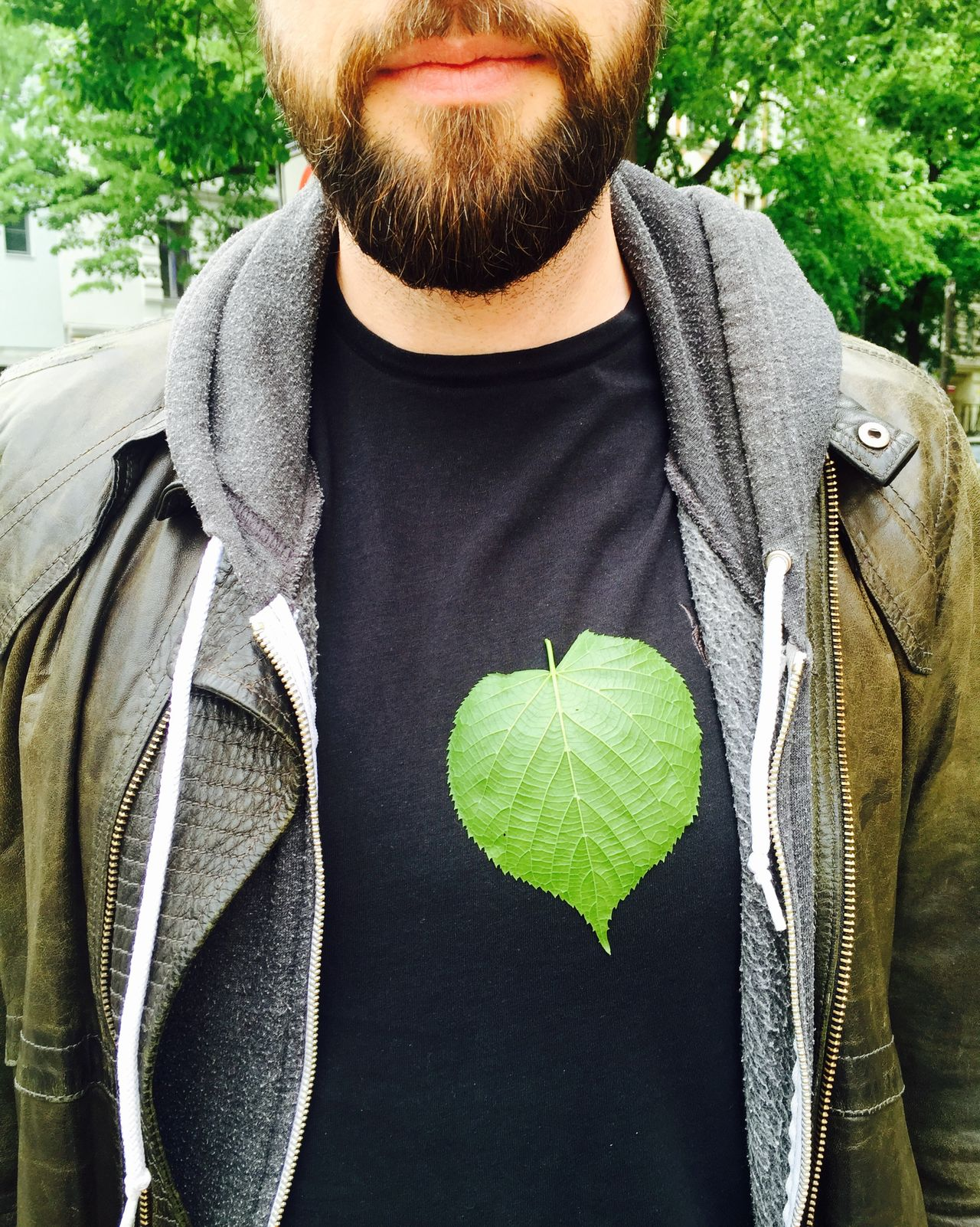 Green heart Beard Casual Clothing Close-up Day Enviroment Freshness Front View Green Green Color Green Heart  Healthy Eating Healthy Lifestyle Heart Hipster Leaf Lifestyles Men Nature One Person Outdoors People Real People Vegan Vegetarian Food Young Adult