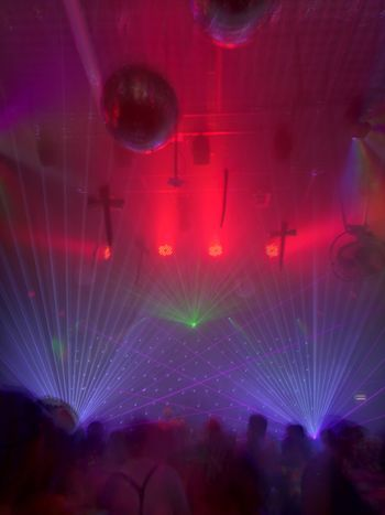 Arts Culture And Entertainment Music Nightlife Nightclub Multi Colored Abstract Motion Performance People Night Indoors  Fame
