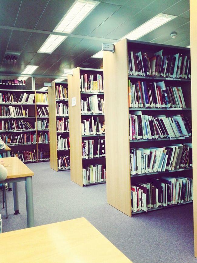 Art Library Books Silence