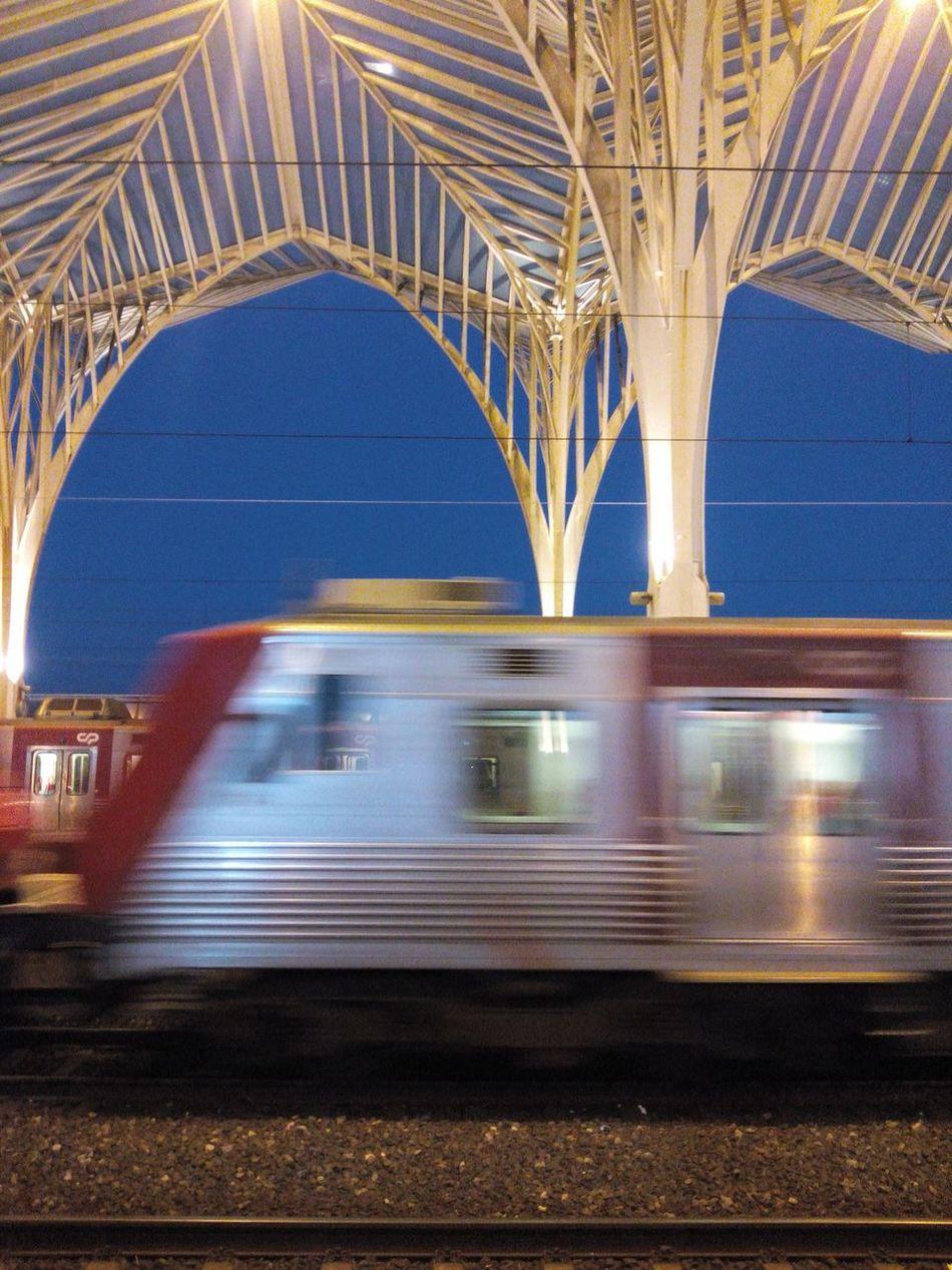 Gare Do Oriente Garedooriente Gare Train Train Station Train Tracks Traintracks Trainstation Railwaystation Rail