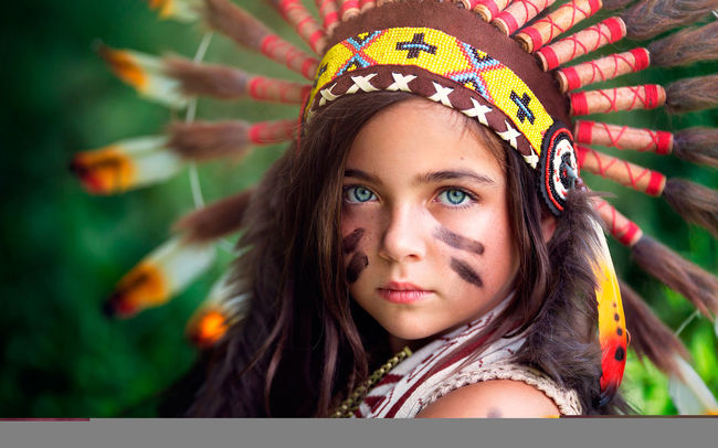 Little Indian Girl Iloveher