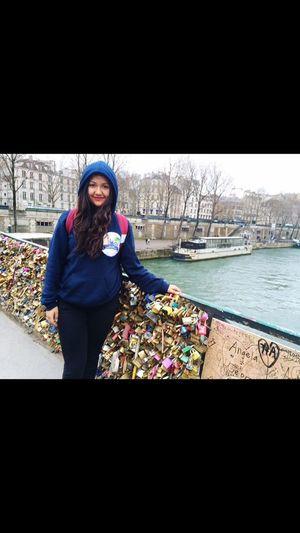 Love bridge ❤️ Paris Love Cute Me