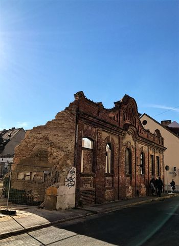 Architecture Outdoors Clear Sky Day Built Structure Sky Hungary Pécs Ruined Building Ruin Photography Ruin