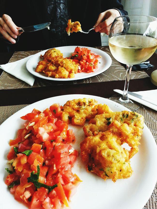 tomate maluco com pataniscas na Leitaria Gourmet. Foodie Leitaria Foodporn