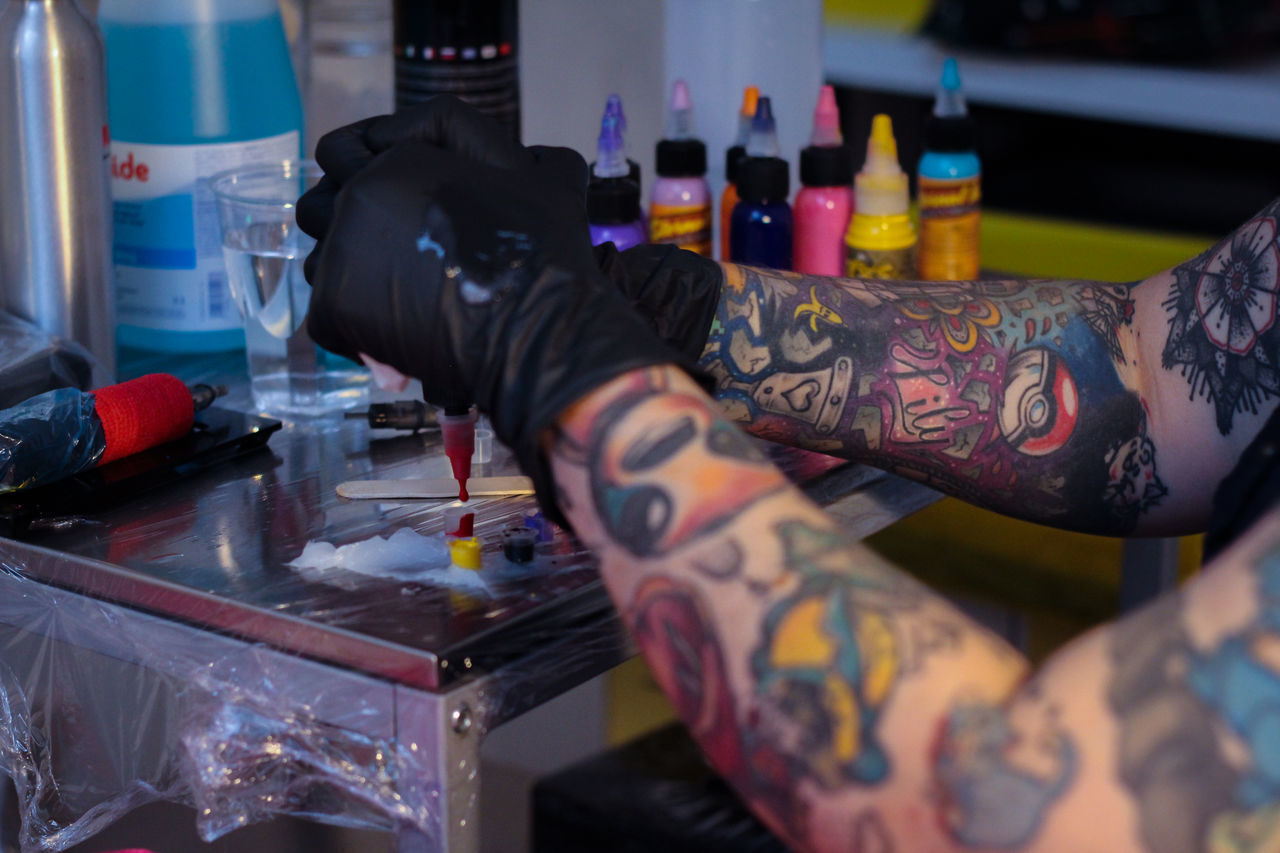 Arm Art Bodyart Close-up Colors Focus On Foreground Ink Inked Inkedgirls Tattoo Tattoo Shop Tattooed