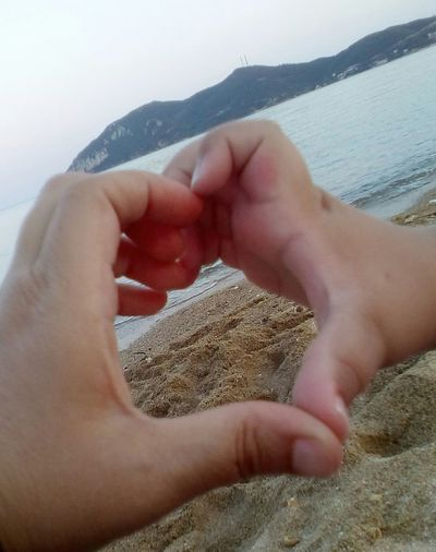Human Hand Togetherness Love Lifestyles Water People Sea Mountain