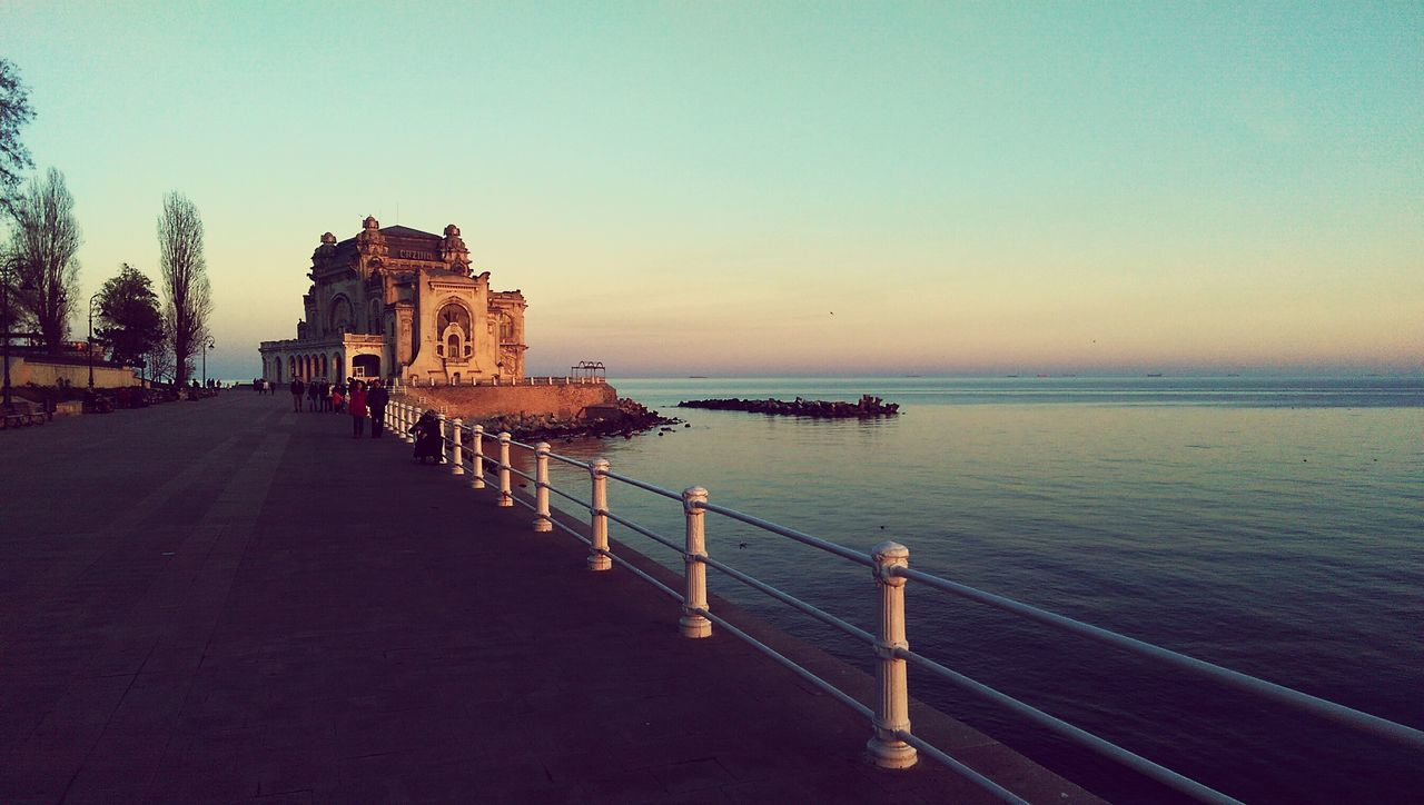 Cazino Constanta Faleza Sunset Apus Winter Christmas Eve
