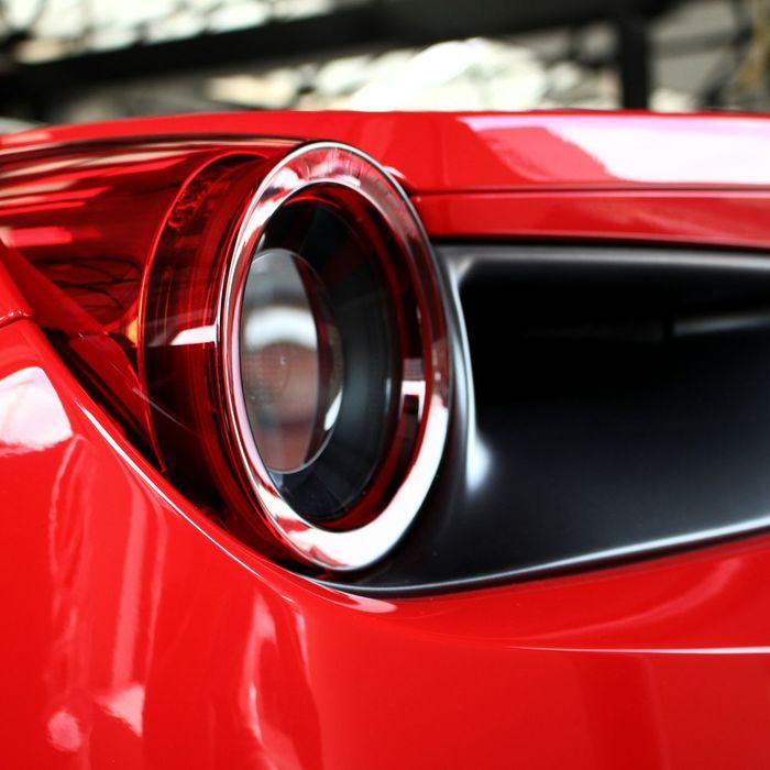 Ferrari 488 GTB. Ferrari 488 Ferrari488 488gtb Ferrari488GTB Red Taillight Light Extreme Close Up Close-up Macro Detail Tail Light Details SupercarsofLondon Supercar Supercars Hypercars Hypercar Sportscars