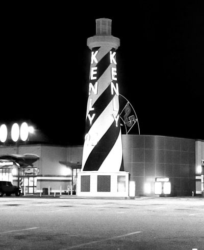 Night Illuminated Built Structure Architecture Outdoors Neon Shadows & Lights Black & White The Week On EyeEm EyeEmNewHere