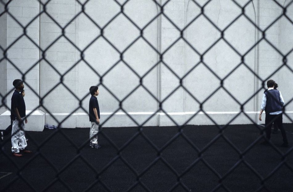 Beautiful stock photos of fußball, chainlink fence, fence, real people, full length