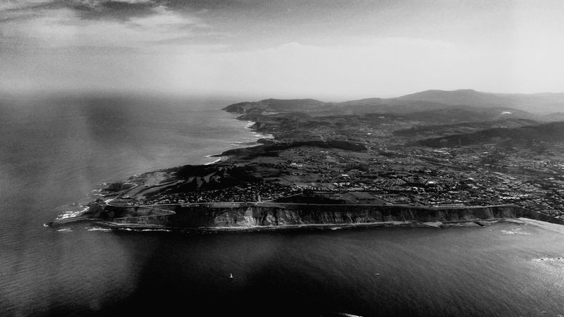 Flying from Menorca to Bilbao, Aerial views. 2015, July 3rd. Menorca Bilbao Flying Landscape Monochrome Aerial Photography Aerial View Aerial Blackandwhite