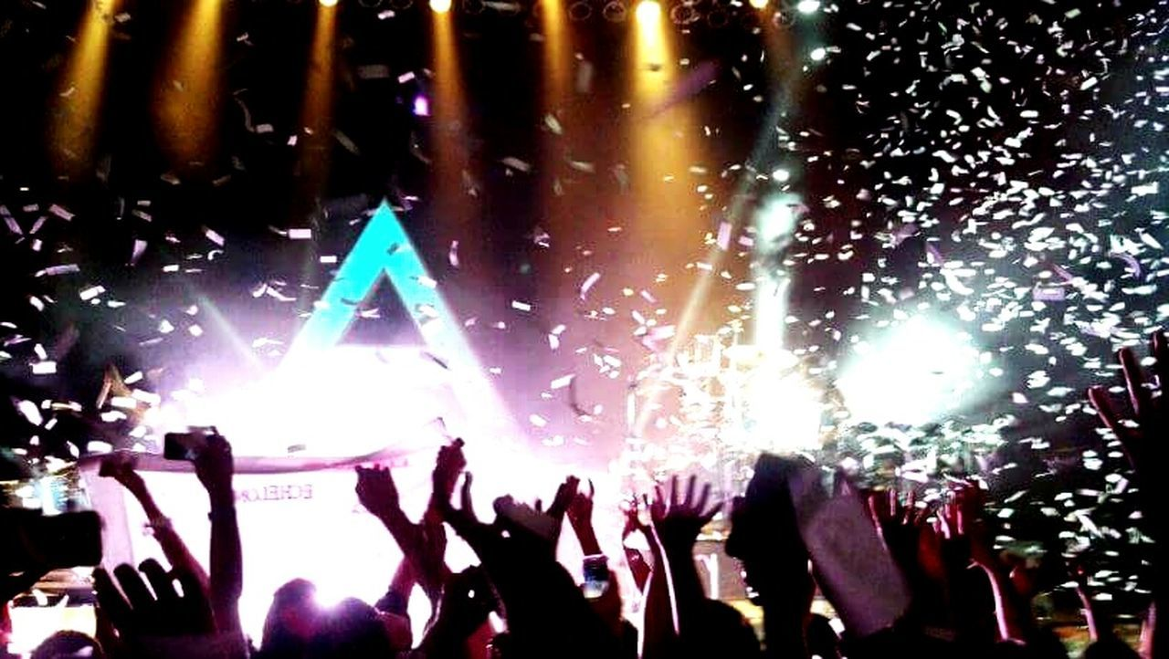 Thirty Seconds To Mars concert! Music Large Group Of People Crowd Audience Arts Culture And Entertainment Popular Music Concert Fun Performance Enjoyment Arms Raised Stage - Performance Space Nightlife Excitement Spectator EyeEmNewHere