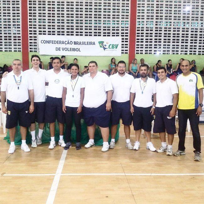 'Simbora' trabalhar Arbitragem Voleibol VôleiRR