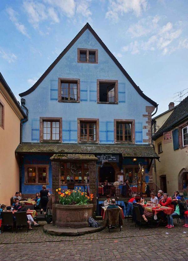 Riquewihr Alsace Dining