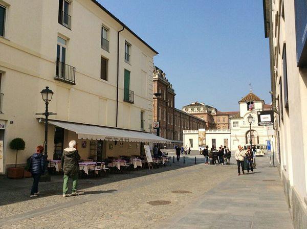 Reggia Di Venaria Strada Passeggiata Piemonte Venaria Reale Museo Arte