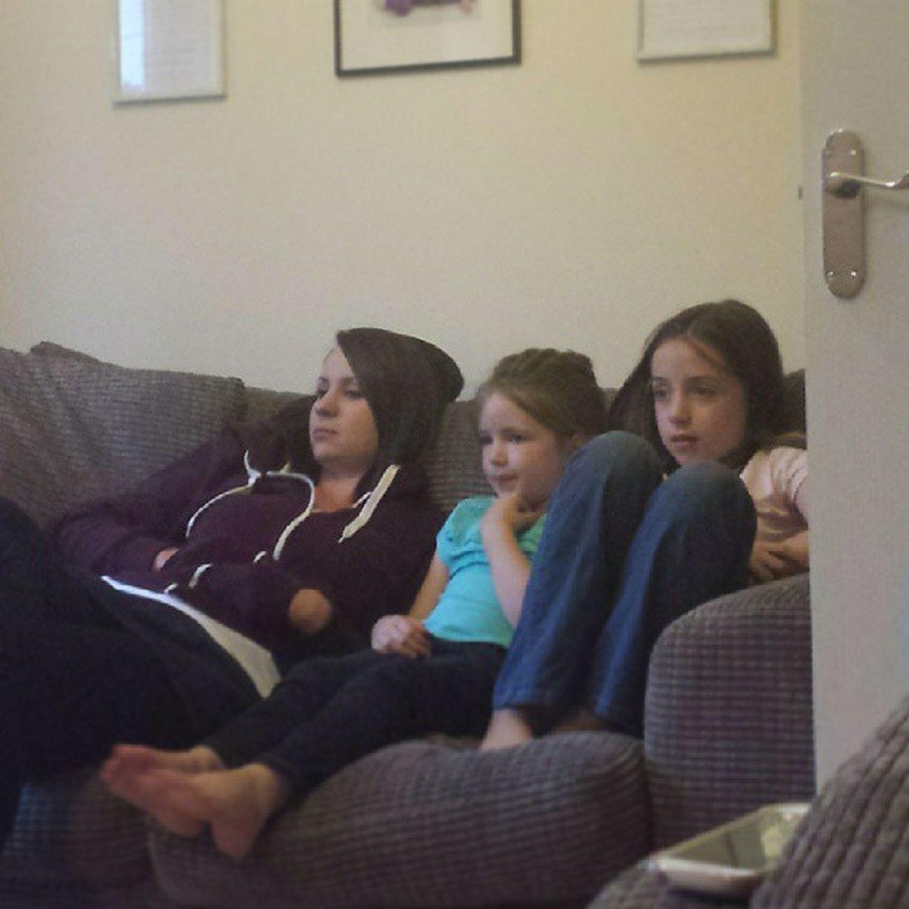 Sofabuddies watching Matilda