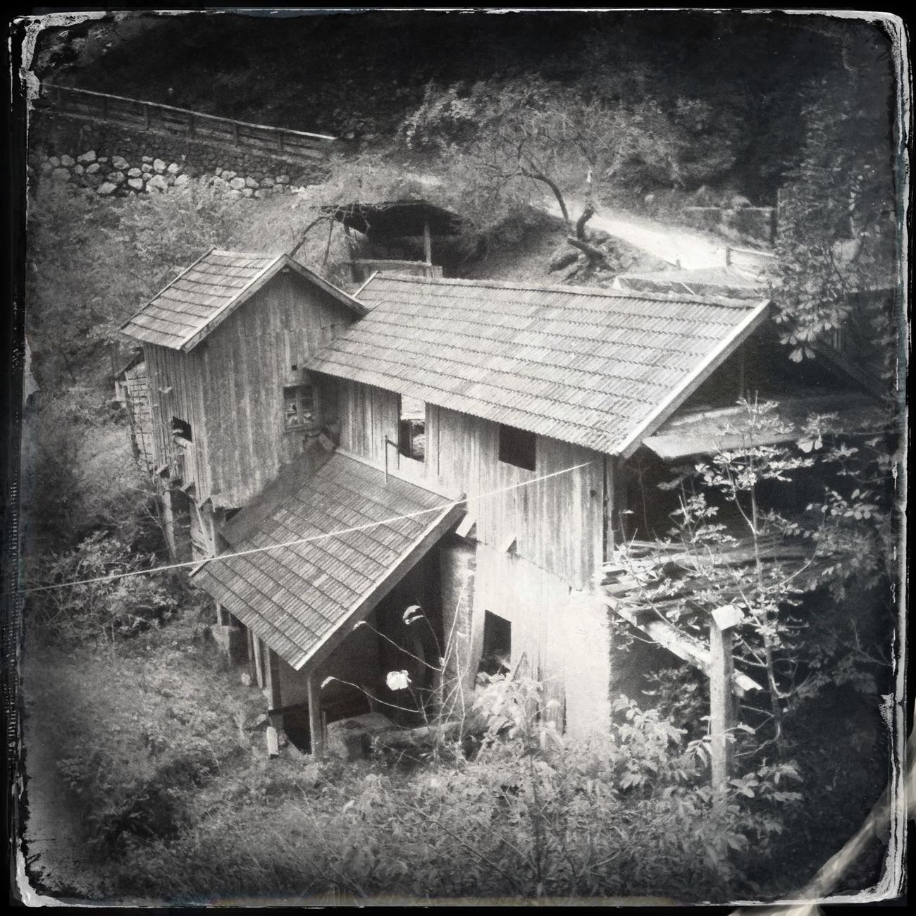 An old mill Hipstamatic Blackandwhite The_guido