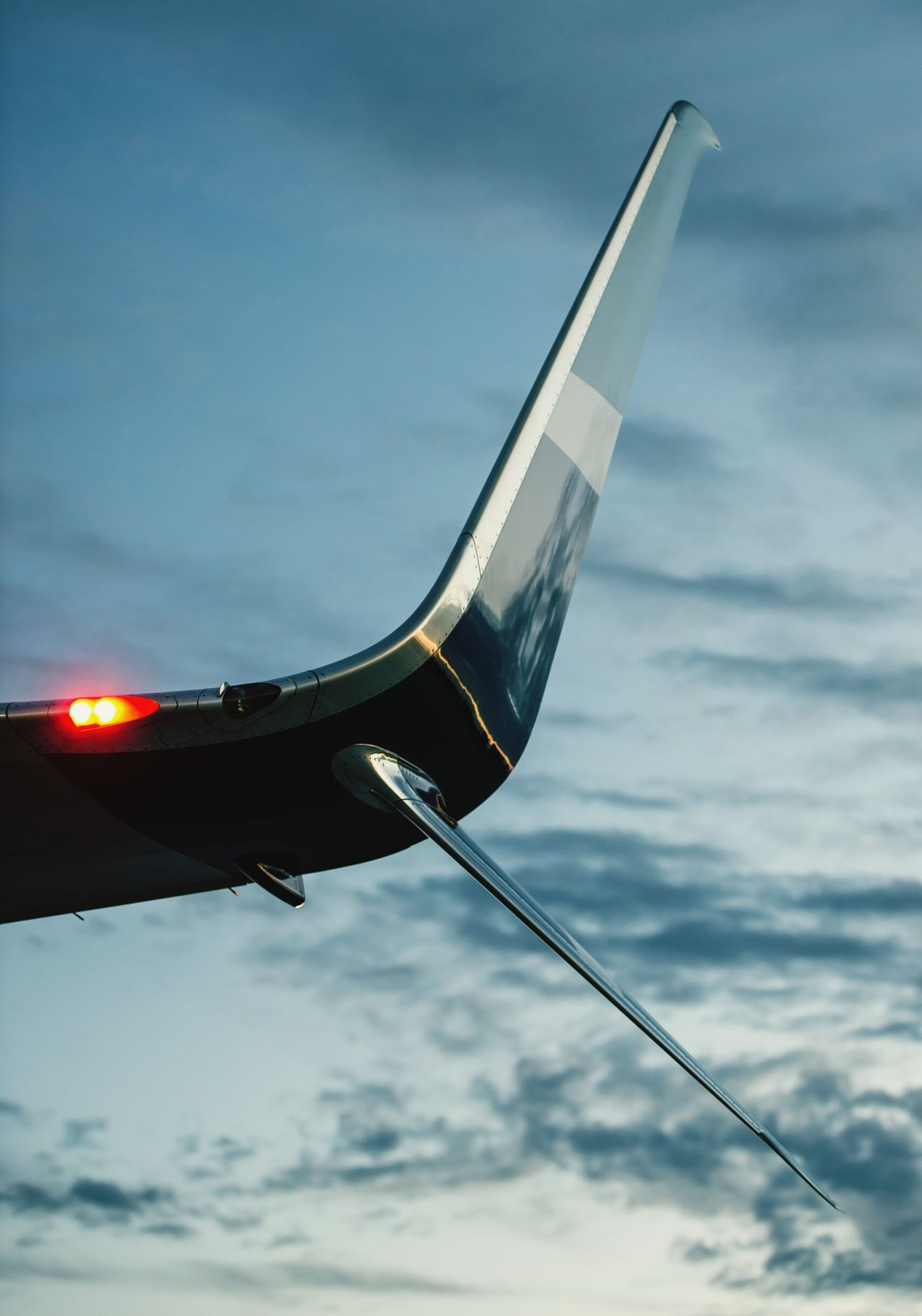 Airplane Aerospace Industry Commercial Airplane Close-up Wingtips Winglet Split Scimitar Airport Air Vehicle Transportation