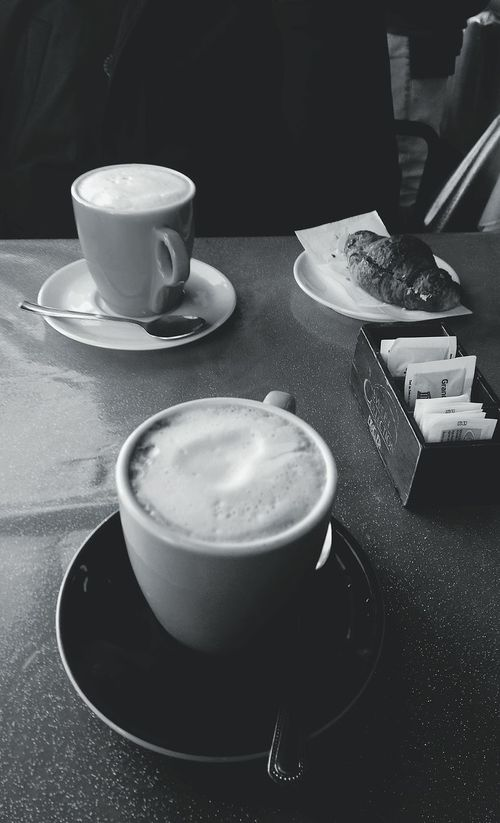 Drink Saucer Blue Cappuccino Plate Cup Tea Cup Table Food And Drink Drinking Glass Milk No People Indoors  Latte Japanese Tea Cup Close-up Day Interior Outdoors Breakfast CapuccinoAddicted