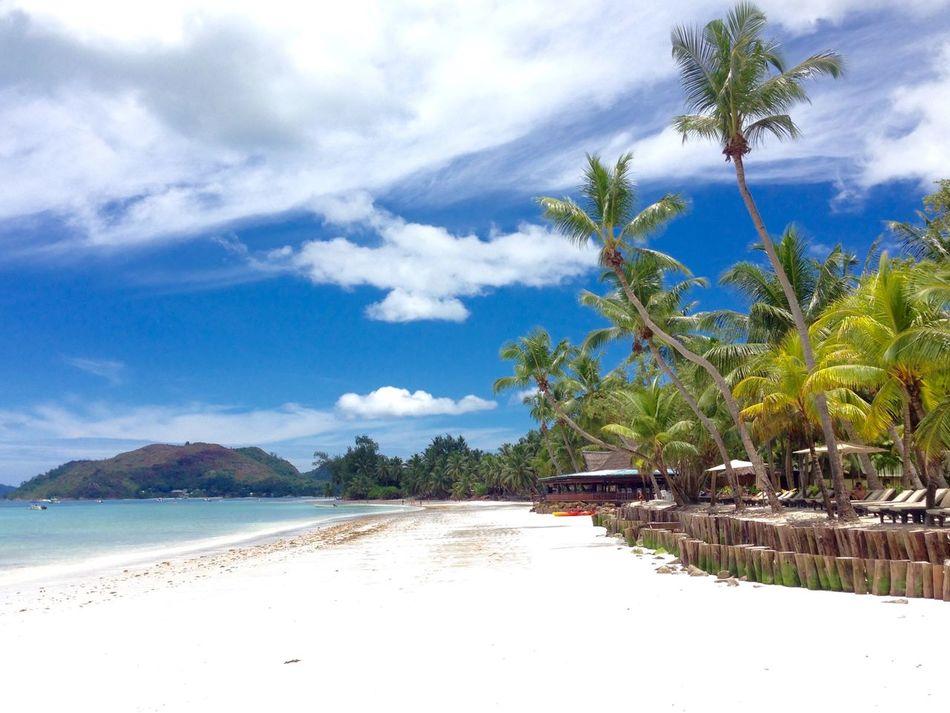 Seychelles Praslin Beach Summer