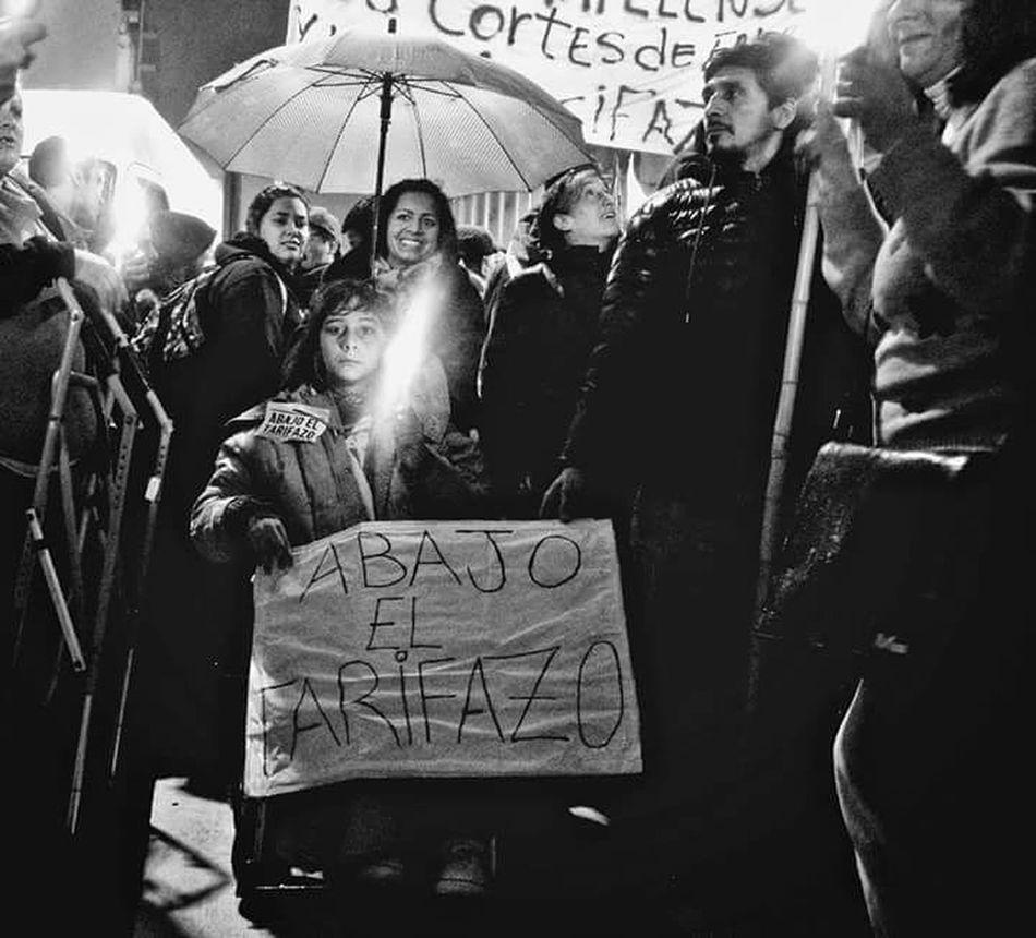 Argentina Photography Argentina Monochrome Riot Manifestation Buenosaires Tarifazo Fuera Macri