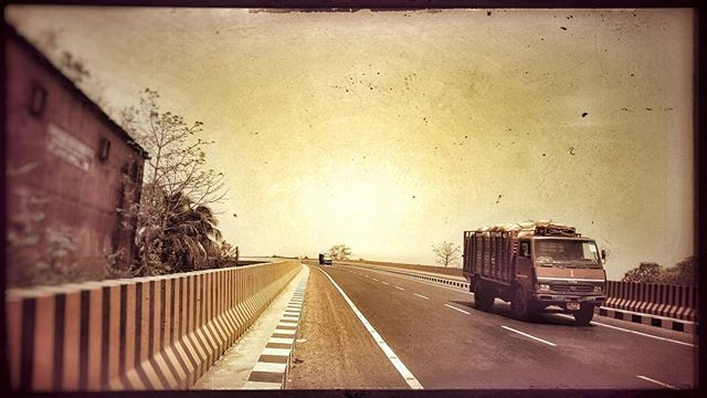 Clicked the shot on the middle of Bankura Flyover while going through the Flyover on my bicycle.