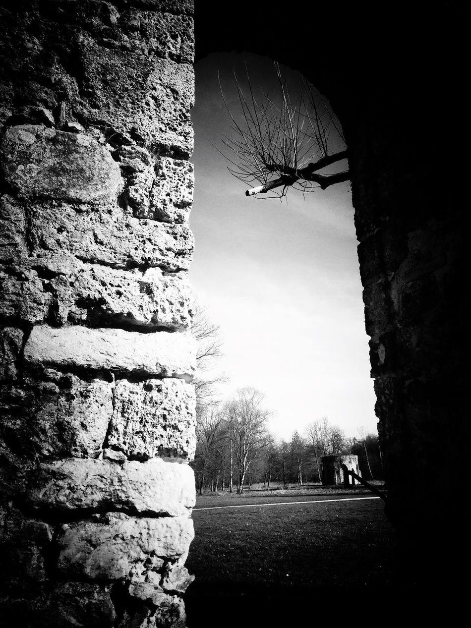 Blackandwhite Monochrome Architecture Beautiful Place Roman Art Abbey