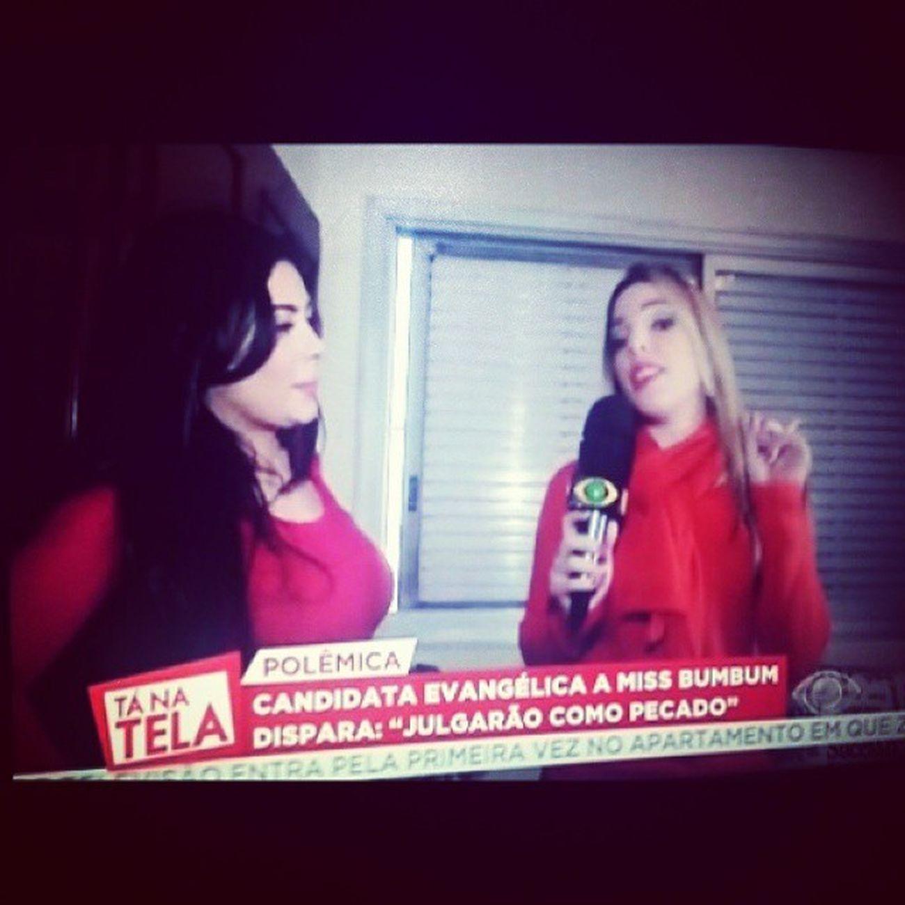 """Minha prima @elisangelacarreira cada vez mais se destacando na @band como repórter do programa Tanatela do @luizbacci no Caso """" @RebekaFrancys !! Estamos orgulhosos!! Parabéns Elisangela Carreira!! ElisangelaCarreira MeninaDeOuro Natela NaBand LuizBacci Meninodeouro RebekaFrancys TvBandeirantes Band ProgramaTaNaTela TonaBand FaeldiSampa PretinhoBásico Odp DsdpBrasil Music Sound World PresidentePrudente SãoPaulo Maceió Alagoas"""