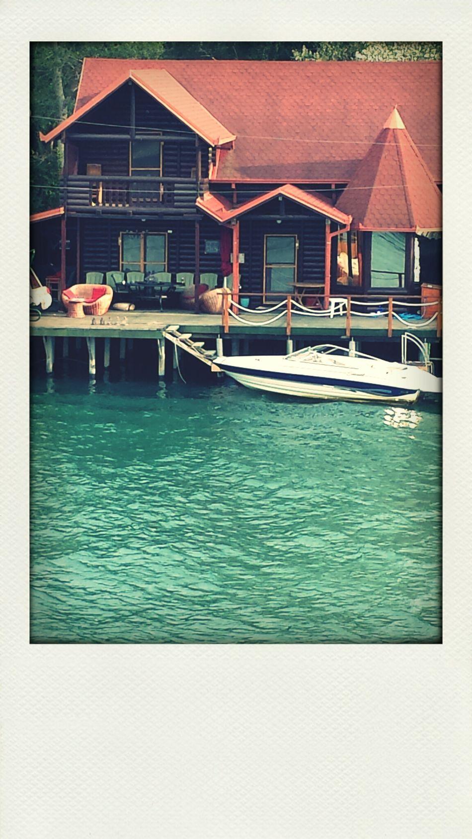 Summer Aqua House