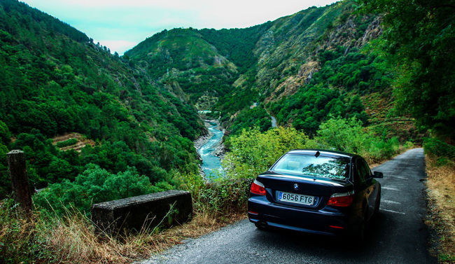 Beauty In Nature Bmw Car Country Road Countryside Galicia Green Nature Non-urban Scene Outdoors Ribeira Sacra RibeiraSacra River Road Roadtrip Scenics Sil Tranquil Scene Tranquility Transportation Valley Vehicle
