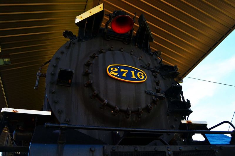 2716 Train Red Bell Vintage