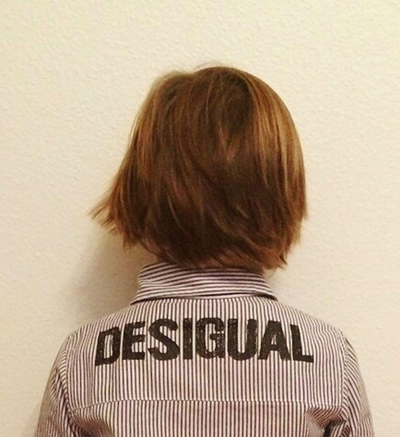 Desigual Fashion Boy Desigual Hair Clothing BackOfTheHead Back