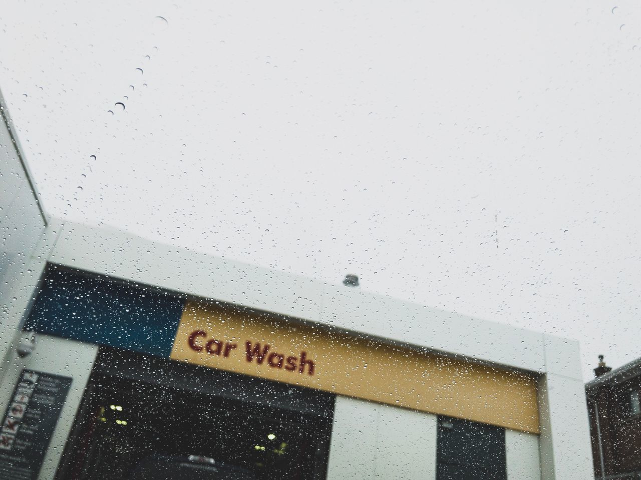 Communication Text No People Built Structure Day Iphoneonly IPhoneography Iphone7plusphoto IPhone7Plus Carwash CarWashTime Waterdrops
