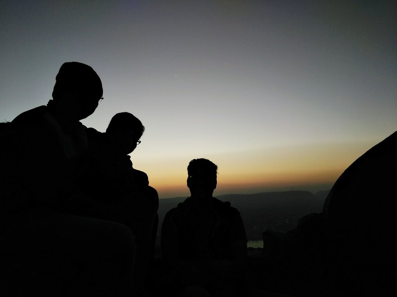 Finding New Frontiers Nahargarh Fort Friendship Beauty In Nature Sky Bonding Sunrise Jaipur,India