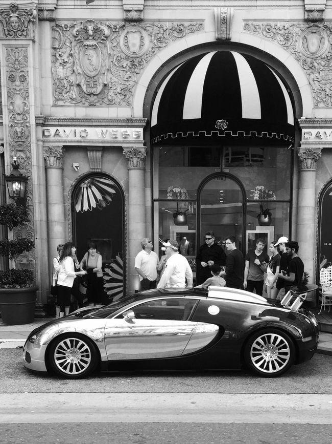 Can't help but stare Infiniteskyaerials Blackandwhite Beverly Hills Streetphotography EyeEm Awards 2016 Bugatti Luxury Luxurylifestyle  Lifeisbeautiful Lifeisgood