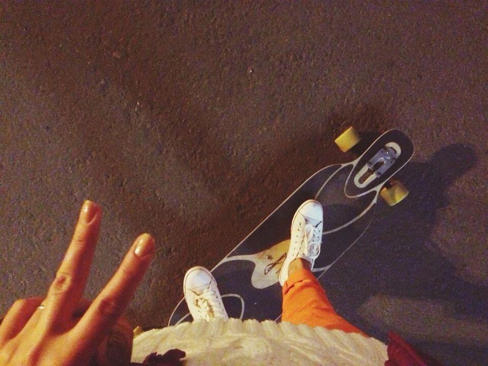 Longboard вернителето! Night