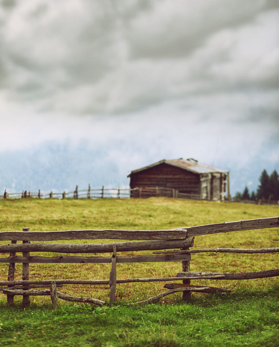 My Village Architecture Tourism Outdoors Green Color Sky Landscape Nature Day Rural Scene Field Grass Farm Agriculture Photo Photography People Photography First Eyeem Photo
