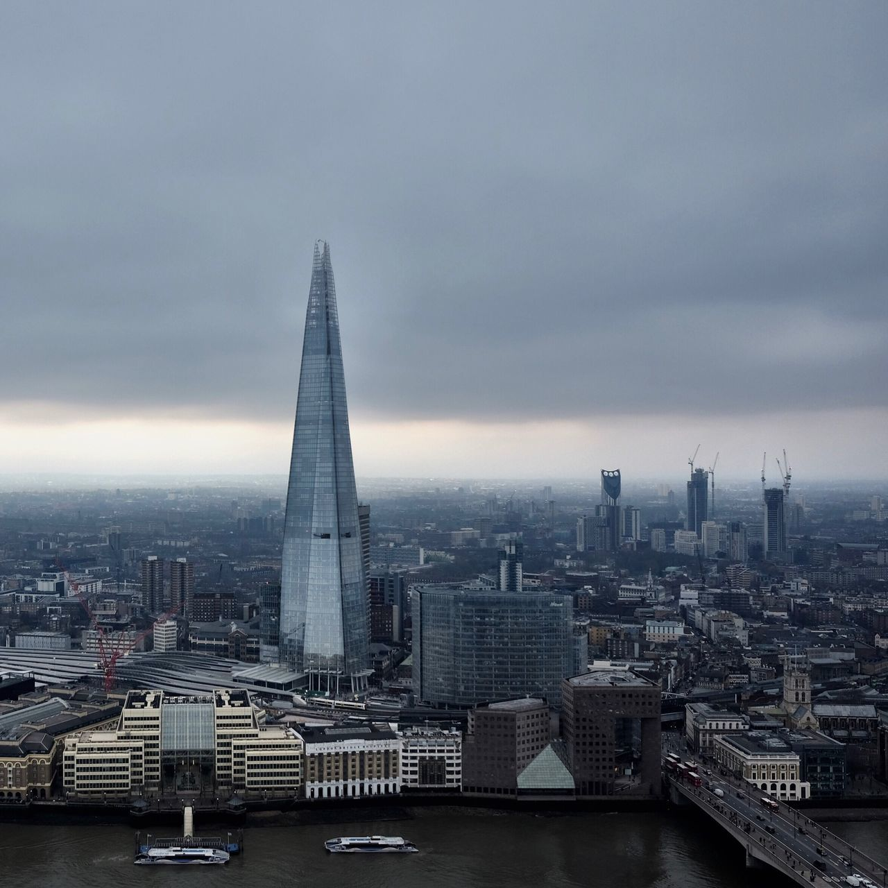 City Architecture Cityscape Tall - High Tower Sky Built Structure Skyscraper Travel Destinations Modern Building Exterior Cloud - Sky Urban Skyline Outdoors Water No People Day Downtown District The Shard