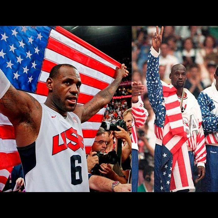 Yesterday, Lebronjames became the 2nd player ever to win an NBA regular season MVP, Finals MVP and an Olympic Gold Medal in the same year...Jordan did 20 years ago in 1992. Congrats Bron Bron!!! Teamusa 2012olympics Basketball