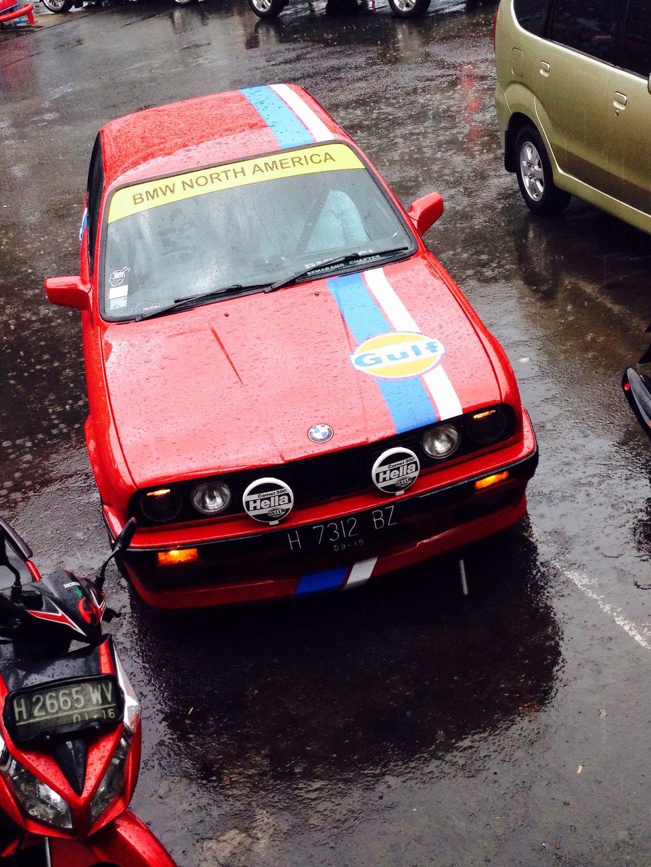 My red.... Bmw E30  Bavarianmotorwork Bmwcci Inonesianeurocar