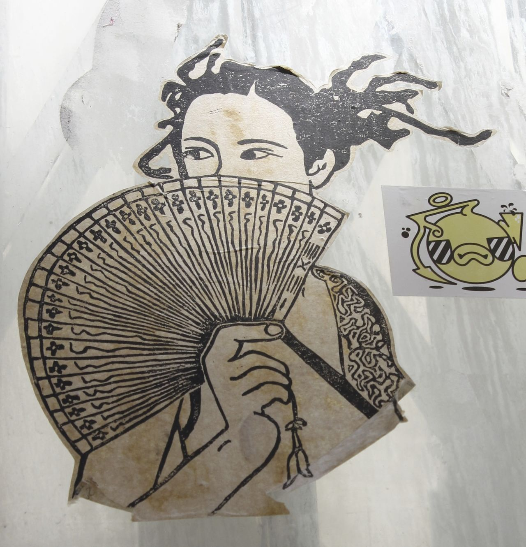 Creativity Draw Draws Paper Street Art Street Art/Graffiti Wall Art Woman Drawing