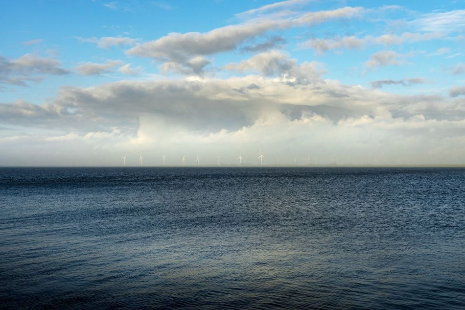 Beauty In Nature Cloud - Sky Day Horizon Over Water Natur Nature Nature Nature_collection No People Outdoors Scenics Sea Sky Tranquil Scene Tranquility Unesco UNESCO World Heritage Site Water Windmill Windmills The EyeEm Collection Selected for Premium Collection