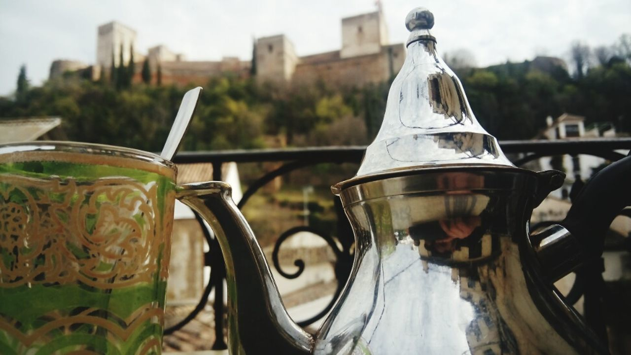 Tea Tea Time Teatime Marroco Alhambra De Granada  Alhambra Close Up Technology Adapted To The City Day Nature Winter City Granada EyeEmNewHere Cityscape Ruins Life Sunlight Blue Sky Portrait Landscape Cold Trip Travel Uniqueness Lieblingsteil Miles Away The City Light Carnival Crowds And Details Minimalist Architecture