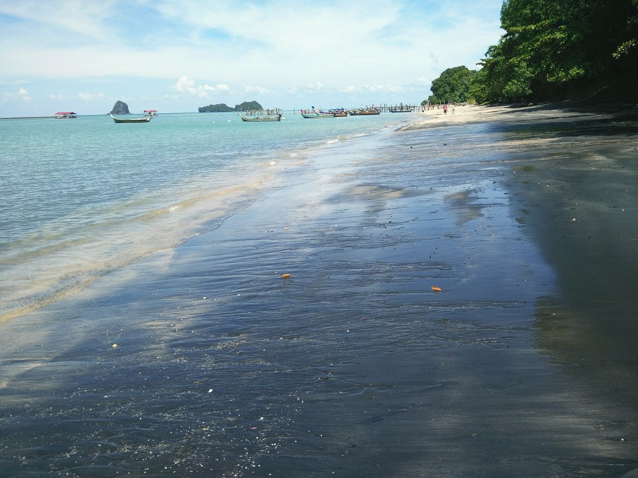 Black Sand Beach , Langkawi Island,Kedah,Malaysia ... Beach Sky Sand Outdoors WithBuddyz