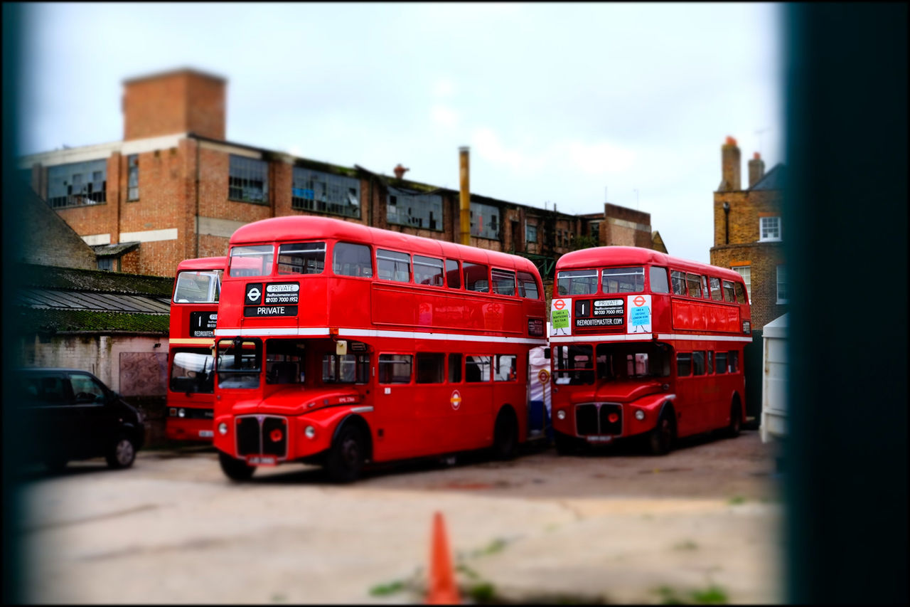 Graveyard For Buses Iconic London Bus London Bus Mode Of Transport Public Transportation Red Red Bus Transport Urban Decay